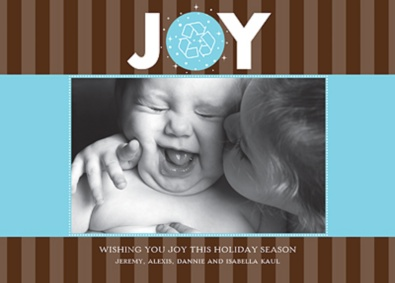 Renewed Wishes Recycled Photo Holiday Card
