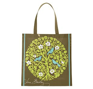 Vera Bradley Shopper Tote in Sittin in a Tree