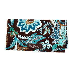 Vera Bradley Checkbook Cover in Java Blue