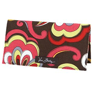 Vera Bradley Checkbook Cover in Puccini