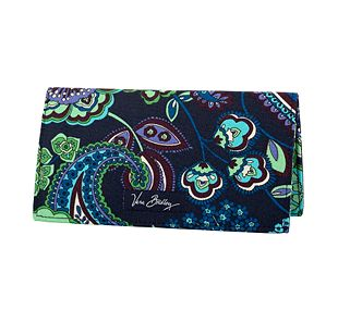 Vera Bradley Checkbook Cover in Blue Rhapsody