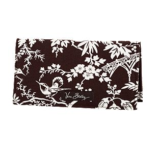 Vera Bradley Checkbook Cover in Imperial Toile