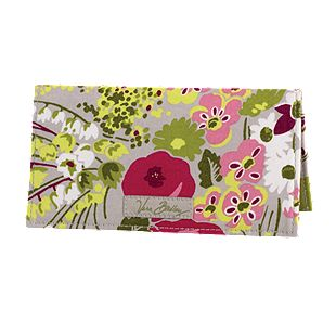 Vera Bradley Checkbook Cover in Make Me Blush