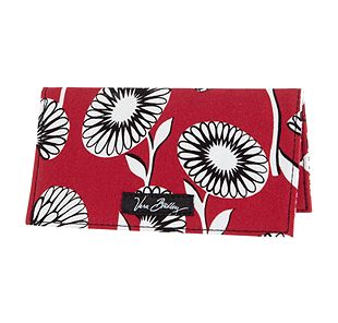 Vera Bradley Checkbook Cover in Deco Daisy