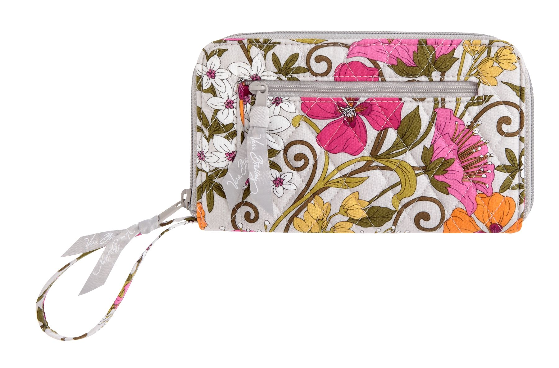 Vera Bradley Zip-Around Wallet in Tea Garden