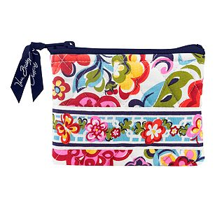 Vera Bradley Coin Purse in Hope Garden