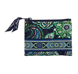 Vera Bradley Coin Purse in Blue Rhapsody