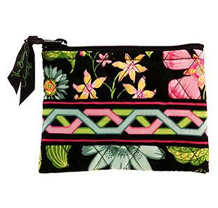 Vera Bradley Coin Purse in Botanica