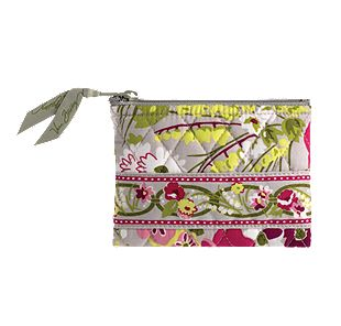 Vera Bradley Coin Purse in Make Me Blush