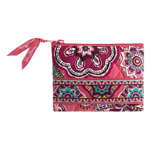 Vera Bradley Coin Purse in Call Me Coral