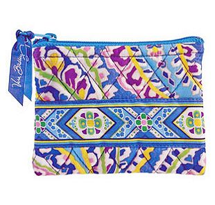 Vera Bradley Coin Purse in Capri Blue