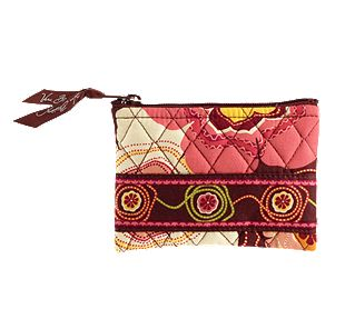 Vera Bradley Coin Purse in Buttercup