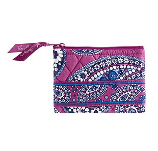 Vera Bradley Coin Purse in Boysenberry