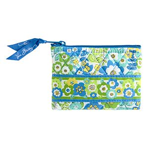 Vera Bradley Coin Purse in English Meadow
