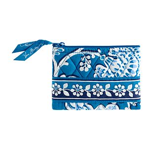 Vera Bradley Coin Purse in Blue Lagoon