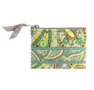 Vera Bradley Coin Purse in Lemon Parfait