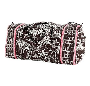 Vera Bradley Small Duffel in Imperial Toile