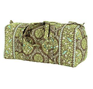 Vera Bradley Small Duffel in Sittin in a Tree