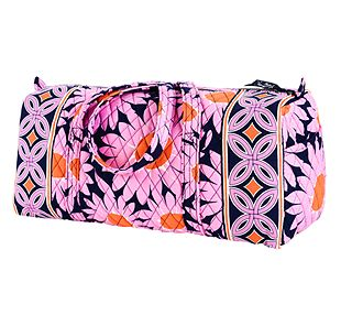 Vera Bradley Small Duffel in Loves Me