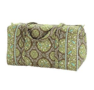Vera Bradley Large Duffel in Sittin in a Tree