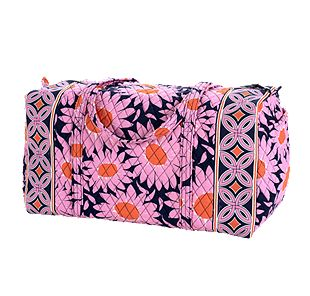 Vera Bradley Large Duffel in Loves Me