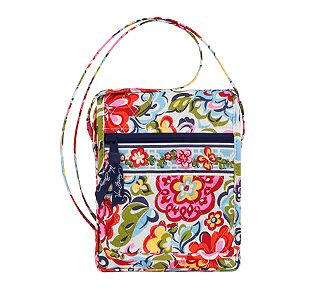 Vera Bradley Mini Hipster in Hope Garden