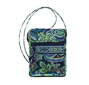 Vera Bradley Mini Hipster in Blue Rhapsody