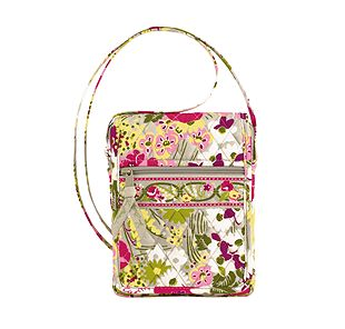 Vera Bradley Mini Hipster in Make Me Blush