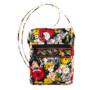Vera Bradley Mini Hipster in Poppy Fields