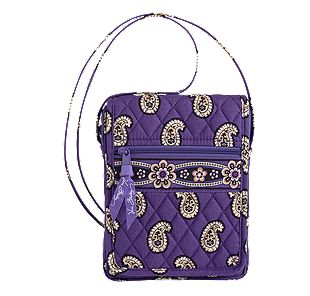 Vera Bradley Mini Hipster in Simply Violet