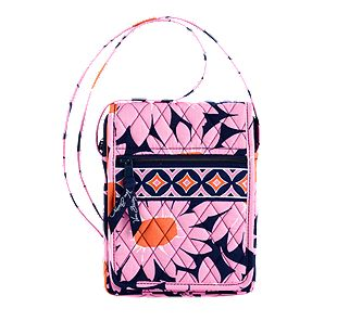 Vera Bradley Mini Hipster in Loves Me