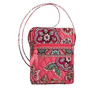 Vera Bradley Mini Hipster in Call Me Coral