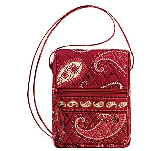 Vera Bradley Mini Hipster in Mesa Red