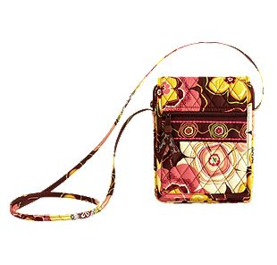 Vera Bradley Mini Hipster in Buttercup