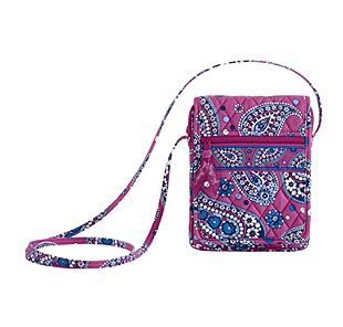 Vera Bradley Mini Hipster in Boysenberry