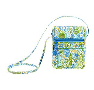 Vera Bradley Mini Hipster in English Meadow