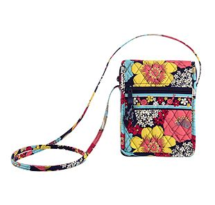 Vera Bradley Mini Hipster in Happy Snails