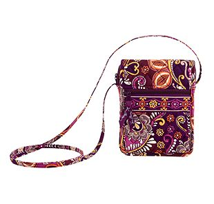 Vera Bradley Mini Hipster in Safari Sunset