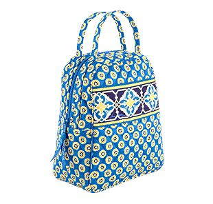 Vera Bradley Let's Do Lunch in Riviera Blue