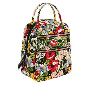 Vera Bradley Let's Do Lunch in Poppy Fields