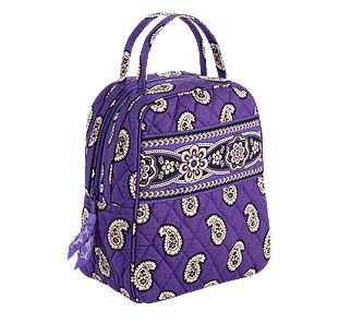 Vera Bradley Let's Do Lunch in Simply Violet