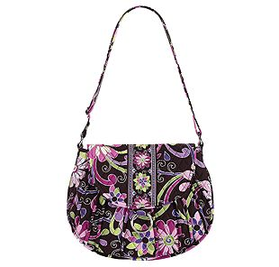 Vera Bradley Saddle Up in Purple Punch