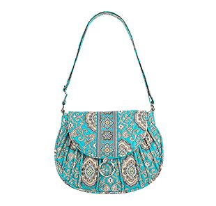 Vera Bradley Saddle Up in Totally Turq