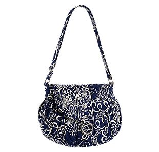 Vera Bradley Saddle Up in Twirly Birds Navy
