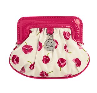 Vera Bradley Charmed Pouch in Make Me Blush