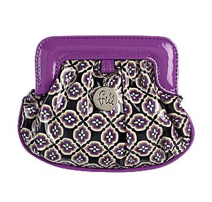 Vera Bradley Charmed Pouch in Simply Violet