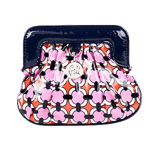 Vera Bradley Charmed Pouch in Loves Me