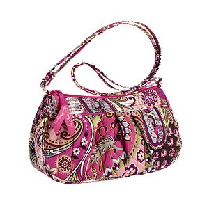 Vera Bradley Frannie in Very Berry Paisley