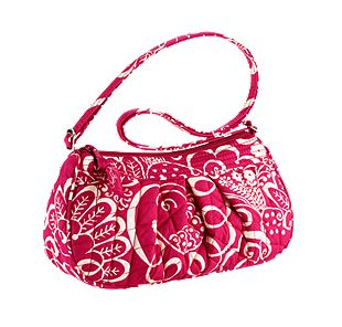 Vera Bradley Frannie in Twirly Birds Pink