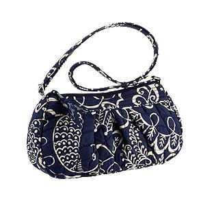 Vera Bradley Frannie in Twirly Birds Navy